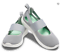 CROCS-LITE-RIDE-MARY-JANE-Light-Grey-White-WOMENS-TRAINERS miniatura 3