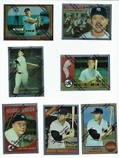 1996 Topps Mantle Finest 11 Card Lot