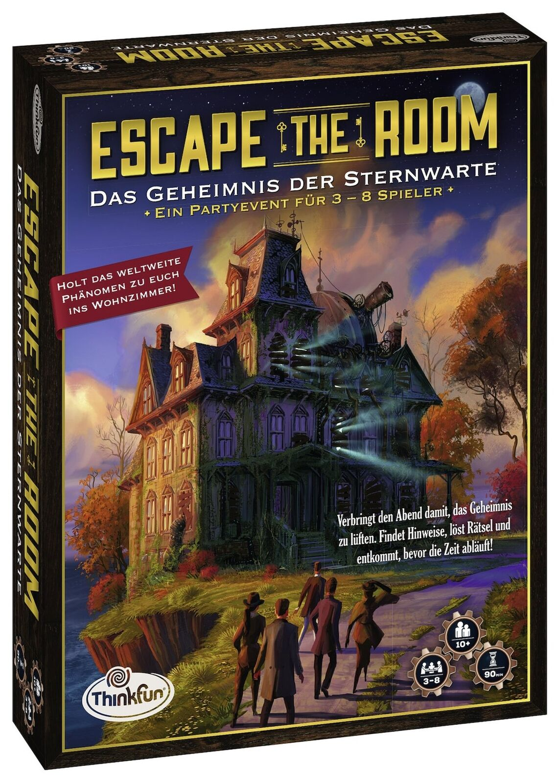 Ravensburger 76313 Thinkfun Escape The Room – The Secret of the Observatory Observatory Observatory 092237
