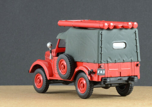 GAZ-69 Soviet Fire Truck PMG-20 USSR 1954 Year 1//43 Scale Collectible Model Car