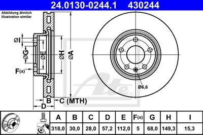 937, 932 2x Bremsschlauch Bremsschläuche Vorderachse Alfa Romeo 147 156 GT