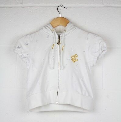 Rrp £80.00 Rocawear Womens Full Tracksuit White/gold