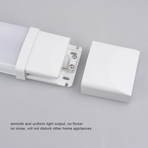Ultraslim LED Feuchtraumleuchte Wannenleuchte 60//120cm Röhre Keller Garage Lampe