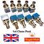 miniatura 1 - 10x 3PDT PEDALE EFFETTO PER CHITARRA PEDALE Interruttore a Pedale True Bypass UK Seller X10