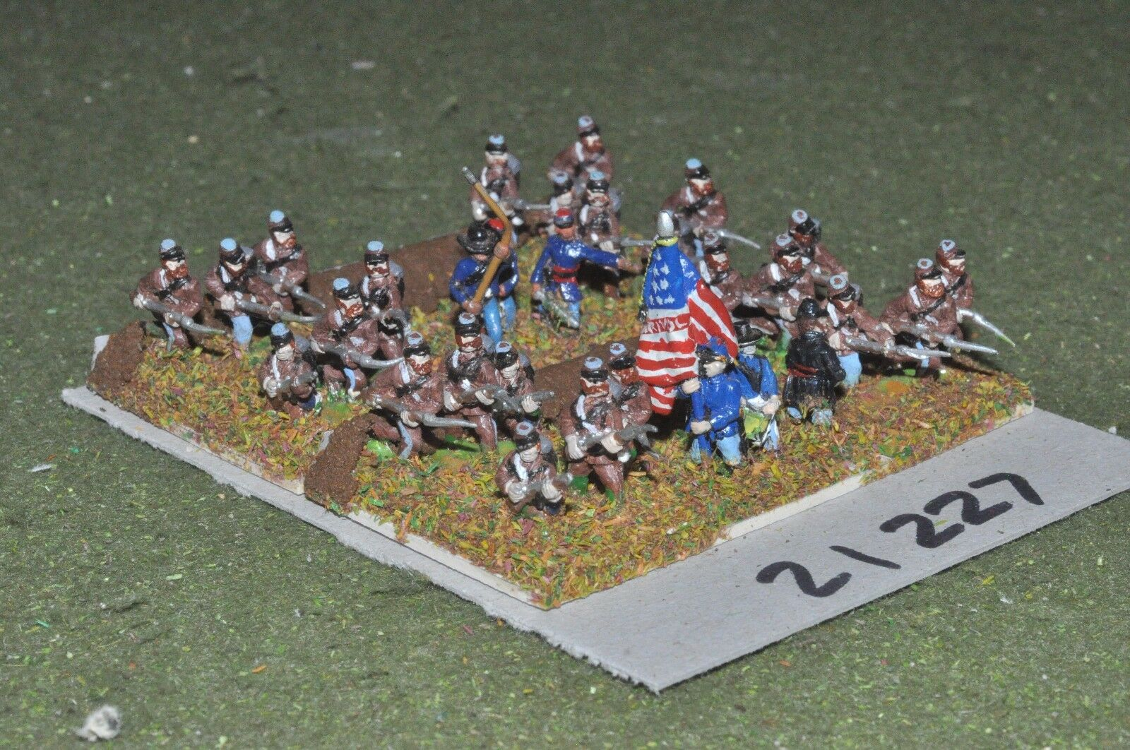 15mm ACW   union - american civil war infantry - inf (21227)