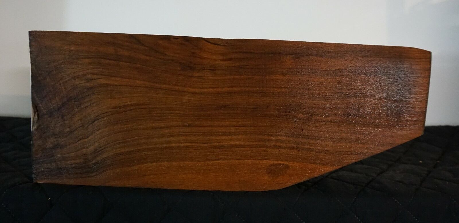 EXHIBITION GRADE ENGLISH PUMP AUTO WALNUT BLANK AND FORE ARM