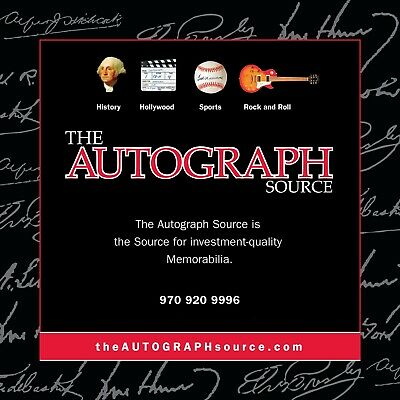The AUTOGRAPH Source