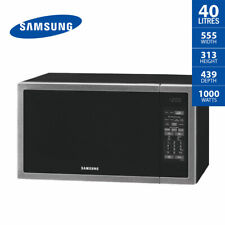 Item 7 Samsung Microwave Oven 40 Litre Stainless Steel Ceramic Interior Me6144st 1000w
