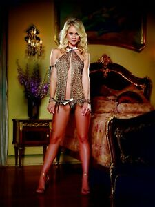 di Jungle Flyaway Babydoll 876802171732 Jane Leopard Lotto biancheria Print 824 Set 4wqtYqFIr