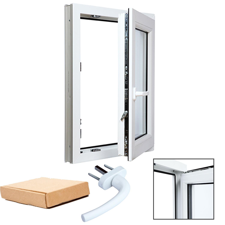Finestre in PVC Bianco Aluplast 4000 Vetro basso emissivo Varie Misure per Te