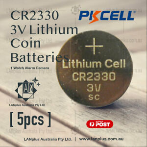 5-x-CR2330-3V-Lithium-Battery-STOCK-IN-Melbourne-Button-Coin-Cell-CR-2330
