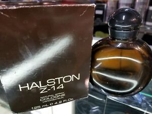 Details about Halston Z-14 Z14 Cologne Natural Spray for Men Him 4 2 fl oz  125 ml NEW IN BOX
