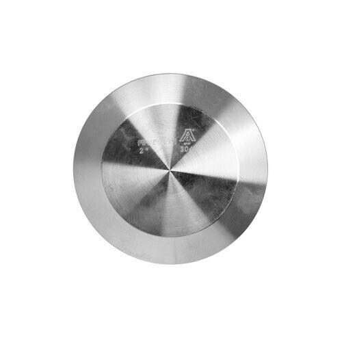 """Sanitary Stainless Steel Ferrule Cap 2/"""" 304"""