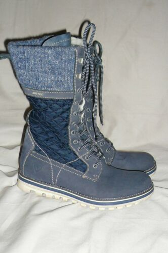 Kvinner Boots uk 6 Combat Style Goretex Quilted Tamaris 1OxFrqw1