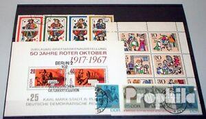 DDR-gestempelt-1967-kompletter-Jahrgang-in-sauberer-Erhaltung