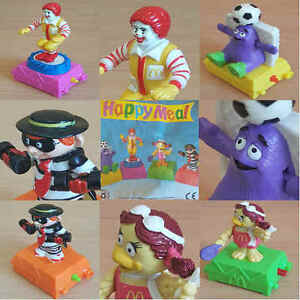 McDonalds-Happy-Meal-Toy-1993-Twisting-Sport-McDonaldland-Toys-Various-Figures