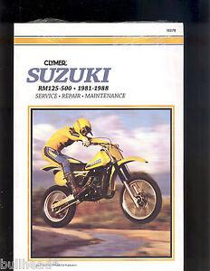 1988 suzuki rm125