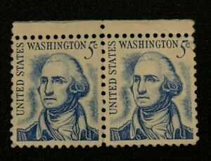 George-Washington-5-Cent-Stamp-1283-US-Prominent-Americans-Series