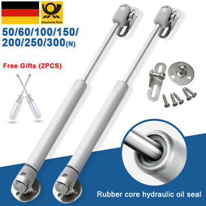 2x-Universal-Gasdruckfeder-Gasfeder-Daempfer-Liftomat-50-60-100-150-200-250-300-N