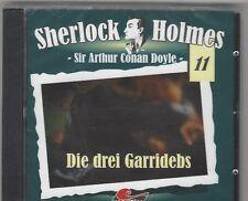 CD - SHERLOCK HOLMES - FOLGE 11 DIE DREI GARRIDEBS NEU + OVP maritim