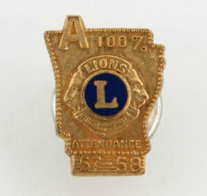 Leones-Club-Int-039-L-Asistencia-1957-58-Arkansas-Pin
