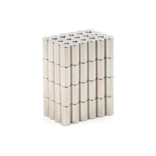 N35 4mm dia x 8mm strong Neodymium rod magnets reed switch MRO DIY SMALL PKS