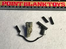 Y82-32 1//6 scale Soldier Story german KSM VBSS Pistol /& Holster for left hand
