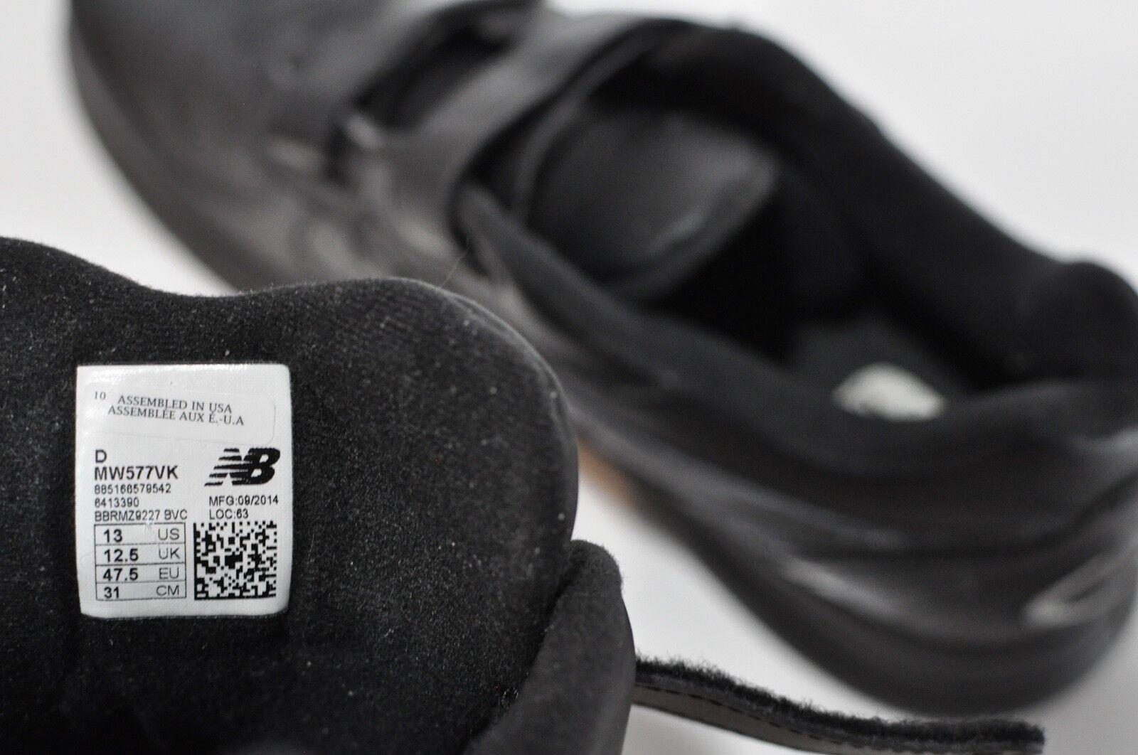 New größe balance mens schwarze 577 wanderschuhe größe New 13 montiert in usa c57474