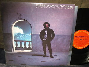 Billy-Newton-Davis-034-Love-is-a-Contact-Sport-034-LP-PROMO