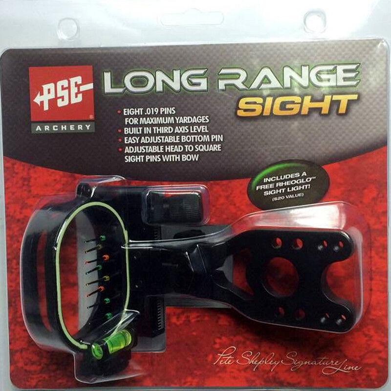 Arco de tiro con arco 0.019  8-Pin Flecha Caza Tiro Arco Compuesto Vista 1PC