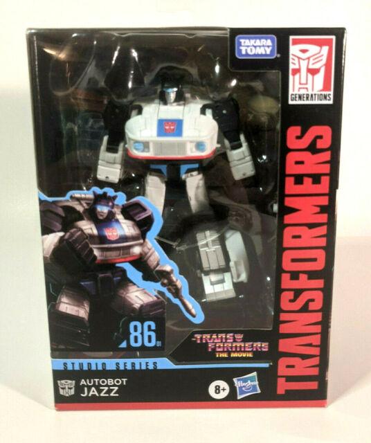 Studio Series - Jazz - Action Figure - Transformers the Movie '86 - Brand New!