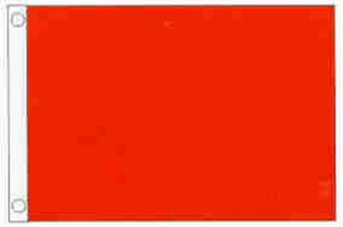 "32183 Red Solid Color Nylon Flag 12/"" X 18/"" 21216"