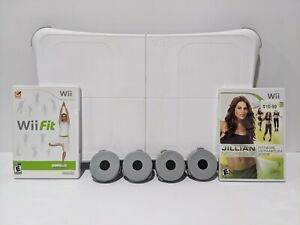 Nintendo Wii Fit Balance Board Bundle with Wii Fit Complete Tested Working