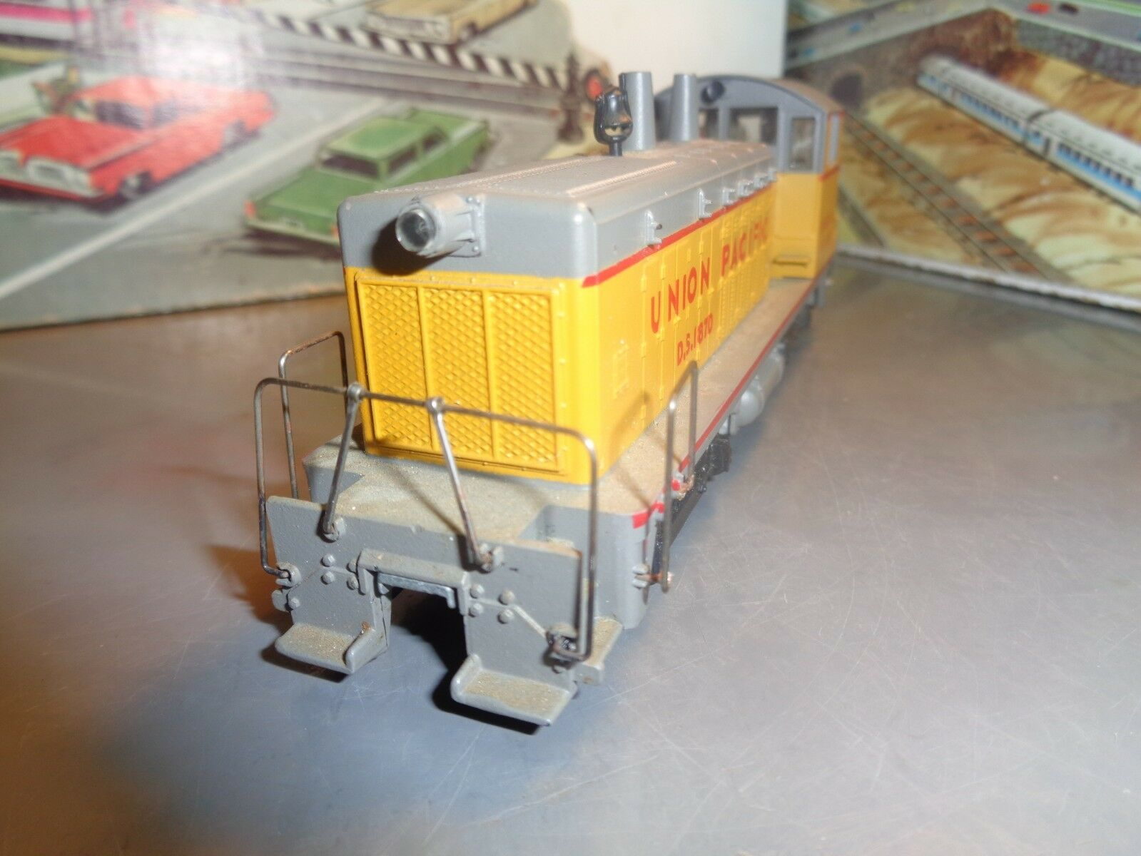 H - o - skala sw-1500 diesel switcher union pacific keine ds 1870 5-54-14