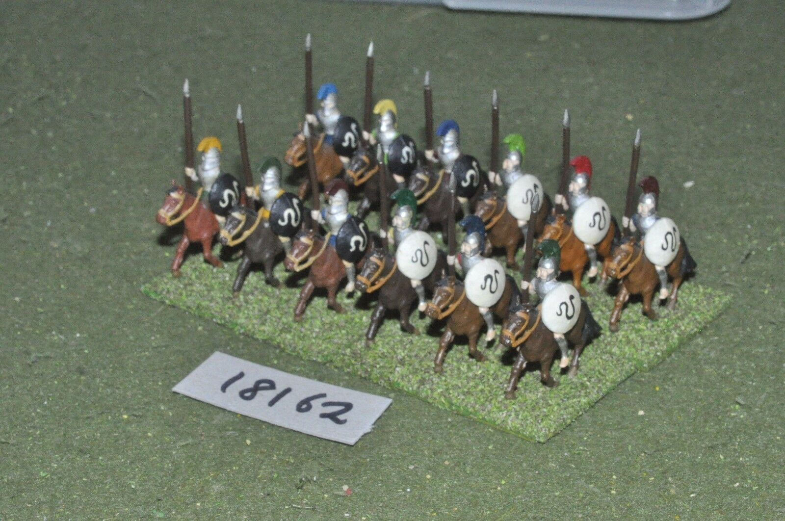 25mm classical   hoplite - cavalry 10 cavalry - cav (18162)