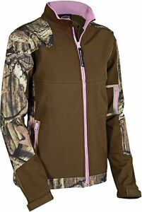 Pink Kvinders Break 79 Jacket W Oak up Windproof Nwt Camo Mossy Og Brun Xl vI5wBw