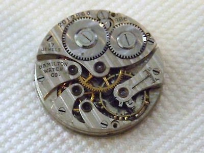 Rare Hamilton 986 17 jewel Movement