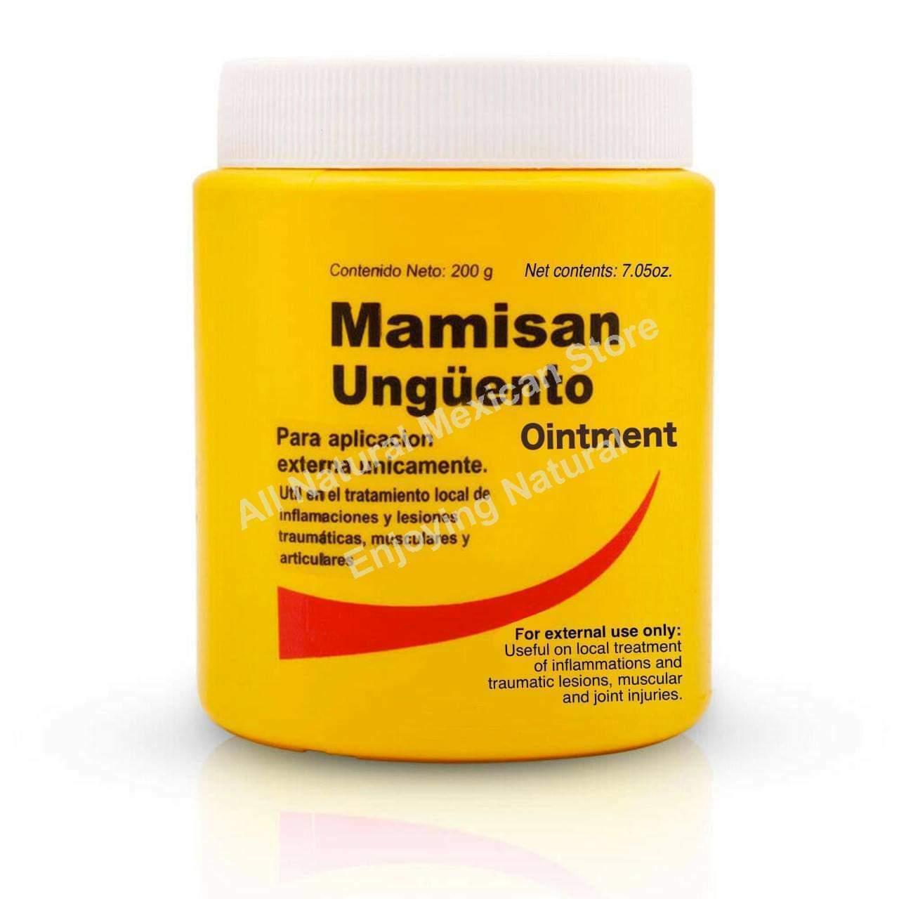 MAMISAN 200g (7oz) OINTMENT LARGE Unguento Mamisan Inflammation FREE Shipping