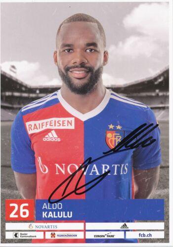 Aldo Kalulu   FC Basel  2018  2019 Autogrammkarte original signiert 406645