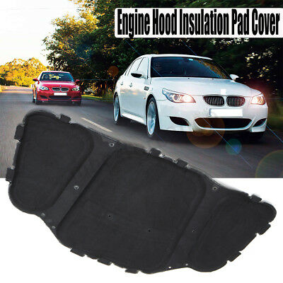 Genuine BMW E60 E61 Hood Insulation Pad Cover NEW OEM 51487148208