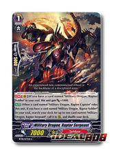 Cardfight Vanguard  x 4 Military Dragon, Raptor Sergeant - BT08/077EN - C Mint