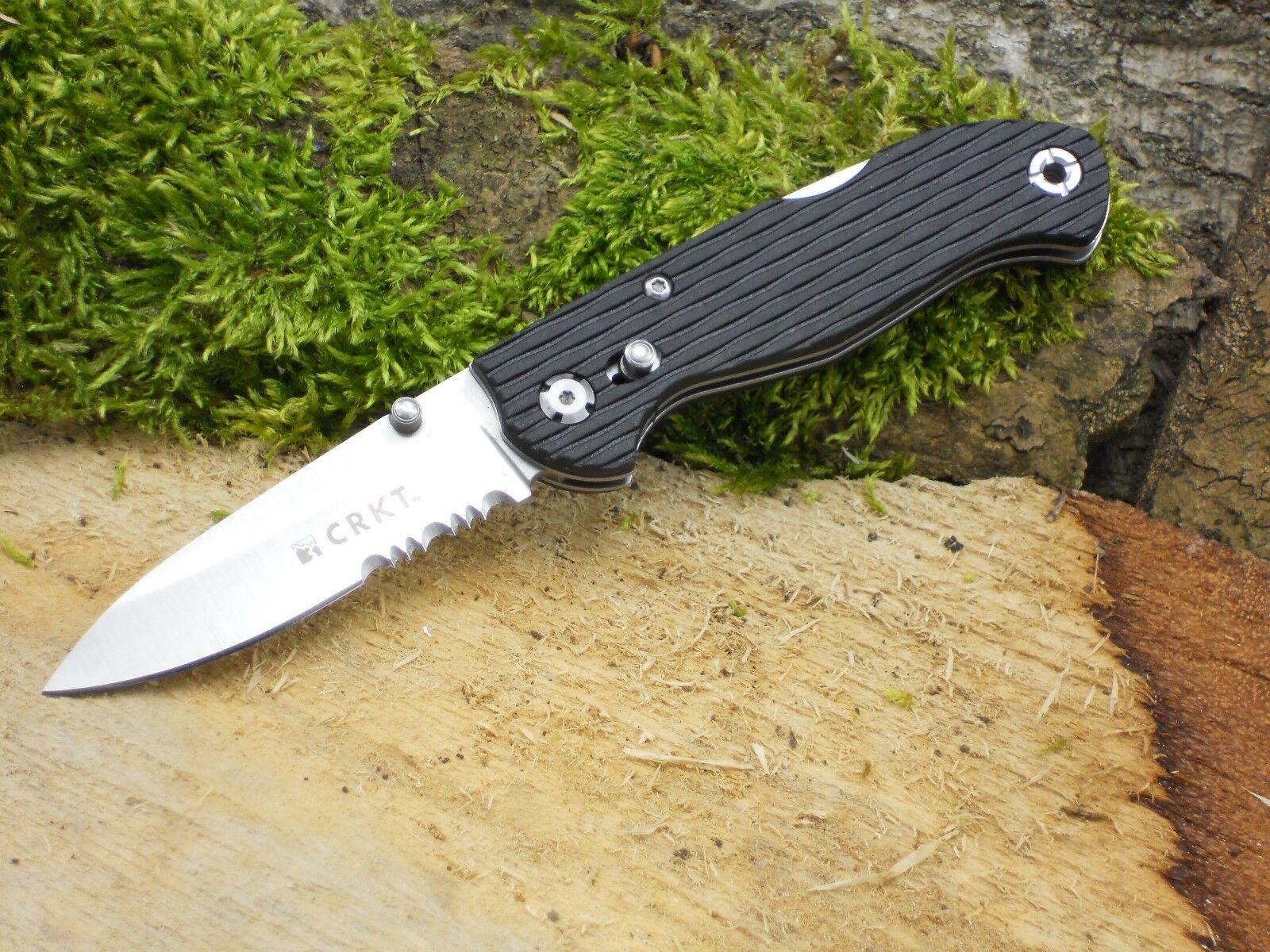 CRKT Messer Lake 111-Z2 Welle Einhandmesser Taschenmesser rostfrei 01CR7254Z NEU  | Verwendet in der Haltbarkeit