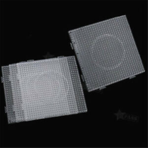 5MM-Clear-Square-Pegboards-Board-For-Perler-Hama-Beads-Peg-Board-Kids-Toys