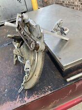Mathey Dearman Beveling Machine 1sa 3 8 With Torch Arm