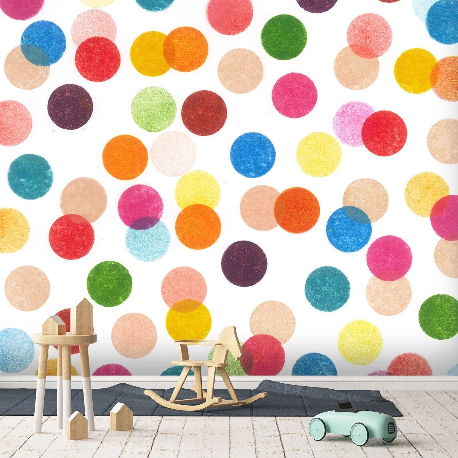 3D colorful Dot 870 Wallpaper Mural Paper Wall Print Indoor Murals CA Summer