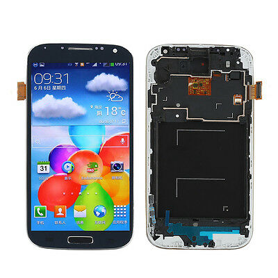 Blue LCD for Samsung Galaxy S4 i9500 i9505  i337 Display Touch Screen Digitizer