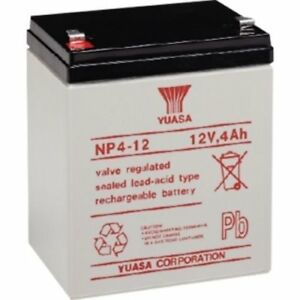 Yuasa-12V-4Ah-NP4-12-Battery-Replacement-for-Solex-SB1240