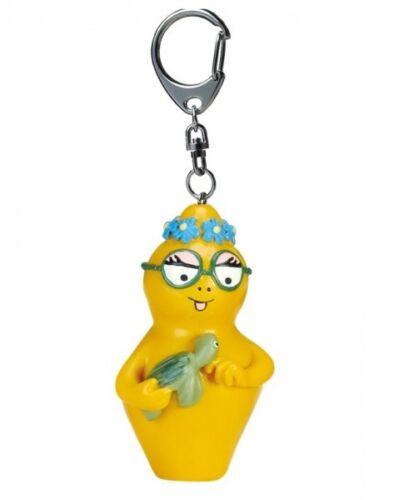Barbapapa porte-clés Barbotine et sa tortue 5 cm keychain turtle figurine 656458