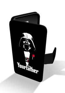 Star-Wars-Darth-Vader-Your-Pather-Black-Wallet-Leather-Phone-Case