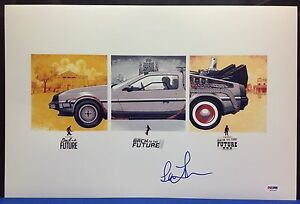 Lea Thompsons Signed Back To The Future 12x18 Photo - PSA/DNA # Z53245